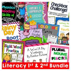 1st & 2nd Literacy Curriculum