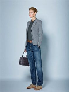 Armani Capsule Classique Best Picture For tomboy fashion curvy For Your Taste You are looking for so Mode Outfits, Chic Outfits, Fashion Outfits, Womens Fashion, Fashion Capsule, Fall Outfits, Tomboy Fashion, Work Fashion, Fashion Looks