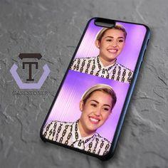 Smile Miley Cyrus iPhone 6|iPhone 6S Black Case