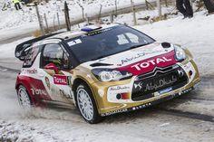 Vidéo : Sébastien Loeb au Rallye de Monte-Carlo 2015 Citroen Sport, Citroen Ds3, Sport Cars, Race Cars, Rallye Automobile, Rallye Wrc, Rally Raid, Speed Racer, Love Car