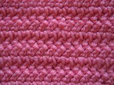 herringbone double crochet stitch; crochet pattern
