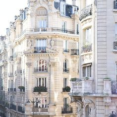 the beauty of Paris' architecture......
