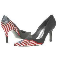 Patriotic heels for the 4th of July