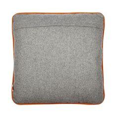 Ben de Lisi Home Designer dark grey wool blend slogan cushion- | Debenhams