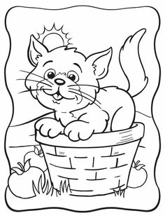 Follow the link below to download this coloring page! http://www.bendonpub.com/upload/coloring-pages/nov-kitty.pdf