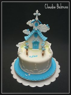 comunion cake leo - claudia behrens by Claudia Behrens ~ Cakes, via Flickr