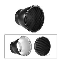 Bookshelf Speakers Andoer 96mm Reflector Diffuser Lamp Shade Dish With 60 Honeycomb Grid For Godox 180W 250W