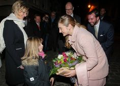 Luxembourg's Crown Prince Guillaume and Princess Stéphanie on Thursday evening marked the 70th anniversary of the liberation of Vianden, wlith the town the last in the Grand Duchy to be freed from Nazi rule.