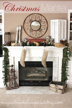 Christmas 2012 Mantel-Megan Brooke Handmade