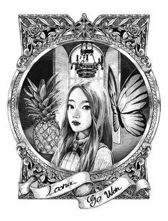 """햇칭 on Twitter: """"crunch princess. #loona #이달의소녀 #gowon #고원 #LOONAyyxy #이달의소녀yyxy #loonafanart… """""""