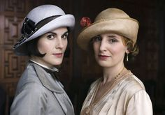 Pin for Later: We're Swooning Over All These Stunning Beauty Looks From Downton Abbey Season Five It seems a shame that Ladies Mary and Edith are hiding their chic styles under hats . . .  Source: ITV
