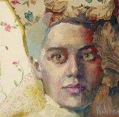 """Me and My Crown"" - Original Fine Art for Sale - © Katie Wilson"