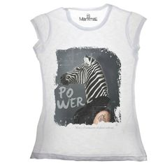 T-shirt Zebra Available on www.manymaltshirt...