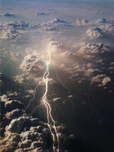 Lightning as seen from above......amazing! dogwoodalliance.org