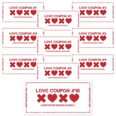 Delightful Order Free Printable Valentines Day Coupon Book Good