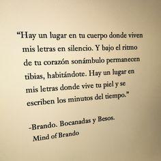 Brando. Bocanadas y Besos.