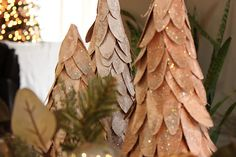 Cardboard Christmas Tree tutorial...