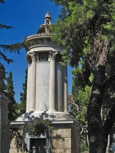 Karapanos' Grave, Athens First Cemetery, Mets