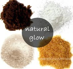 Natural Scrubs for a natural glow