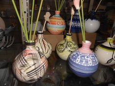 cerâmicas pintadas à mão