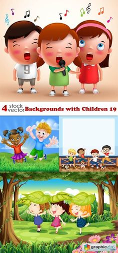 Backgrounds with Children 19