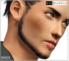 3 new male beards by Ronja - Sims 3 Downloads CC Caboodle