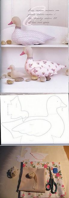 Amazing Home Sewing Crafts Ideas. Incredible Home Sewing Crafts Ideas. Animal Sewing Patterns, Sewing Patterns Free, Doll Patterns, Free Sewing, Fabric Animals, Fabric Birds, Sewing Stuffed Animals, Stuffed Animal Patterns, Sewing Projects For Kids