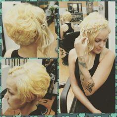 Braids styles Ligh blonde