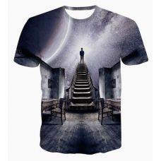 Camisa ocasional 3D