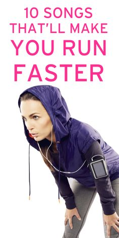 Haha The ultimate playlist for runners who are trying to increase speed via @Erin B B B B B Taylor.com