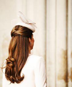 Kate Middleton hair // so pretty!