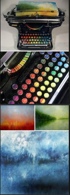Chromatic Typewriter.<<<<<< WHERE HAS THIS BEEN ALL MY LIFE?!