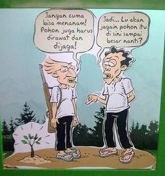 Kartun Benny & Mice: Green Fest - Rawat Pohon