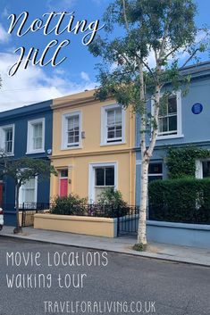 Notting Hill Movie Locations Tour - Travel for a Living Road Trip Europe, Europe Travel Guide, Europe Destinations, Notting Hill Movie, Travel Through Europe, Best Travel Guides, Things To Do In London, Filming Locations, Ireland Travel