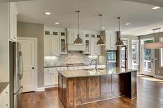 Kitchen On A Budget, New Kitchen, Kitchen Decor, Kitchen Ideas, Kitchen Designs, Kitchen Interior, Kitchen Island, Kitchen Cabinets, Beautiful Kitchens