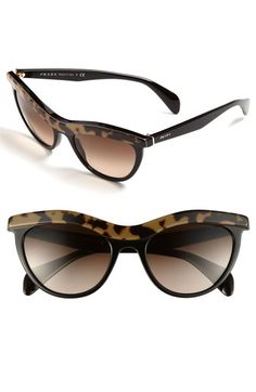 Prada Cat's Eye Sunglasses available at Nordstrom Ray Ban Sunglasses Sale, Prada Sunglasses, Sunglasses Outlet, Cat Eye Sunglasses, Sunglasses Women, Sports Sunglasses, Sunglasses 2016, Wayfarer Sunglasses, Shoes