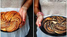 Kynuté těsto, máslo, skořice a ten finální výsledek… I když vypadá docela obtížně, opak je pravdou. Zkuste ho upéct nejen se skořicí, ale i s makovou náplní. Možná ten makový nevypadá tak hezky, ale chutná báječně, což je mnohem důležitější. Sweet Cakes, How To Make Bread, Love Is Sweet, Ratatouille, Sweet Recipes, Blog, Food And Drink, Baking, Ethnic Recipes