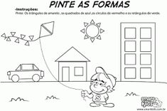 Játékos tanulás és kreativitás: Az alaklátás, alakállandóság észlelésének fejlesztése Numeracy, Preschool Worksheets, Kindergarten, Diagram, Shapes, Education, Blog, Scrap, Poetry Activities