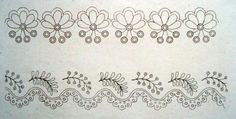 1825 2 muslin embroidery edging patterns