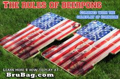 BruBag combines the rules of Beer Pong with the game-play of Cornhole to create the perfect activity for this social distancing era. Beer Pong Rules, Gifts For Family, Gifts For Dad, Summertime Madness, Outside Games, Corn Hole Game, Lawn Games, Bag Toss, Drinking Games