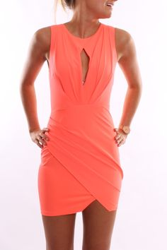 Goddess Dress Coral | Most Popular | Jean Jail