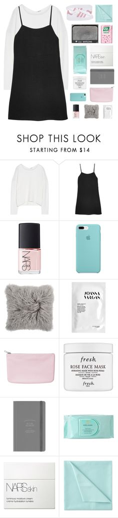 """♡"" by scattered-parts ❤ liked on Polyvore featuring Helmut Lang, Reformation, NARS Cosmetics, Joanna Vargas, Monki, Fresh, Estée Lauder, Liz Claiborne and adidas Originals"