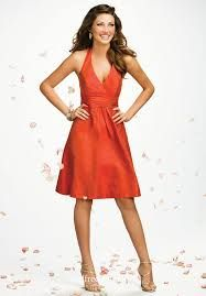 orange bridesmaid-dresses - Google Search
