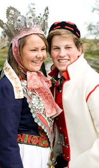 Traditional Norwegian Wedding And Marriage Clothing Cute