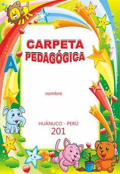 diseños educativos de carpeta pedagógica: DISEÑO DE CARPETA ...