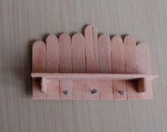 Puppenhaus Miniatur Regal shabby chic