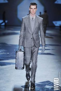 Hardy Amies Men's RTW Fall 2012