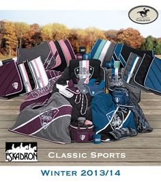 These colours.  Eskadron Classic Sports winter 2013/14 Purple for Dolce and the blue for Bravo!