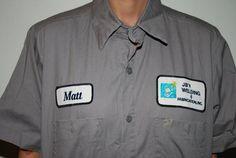 Vintage Mens Rockabilly  Welding Uniform Workshirt Size M-ETSY TREASURY