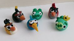 Angry birds inspired wine glass charms by brittanyandrews on Etsy, $12.00